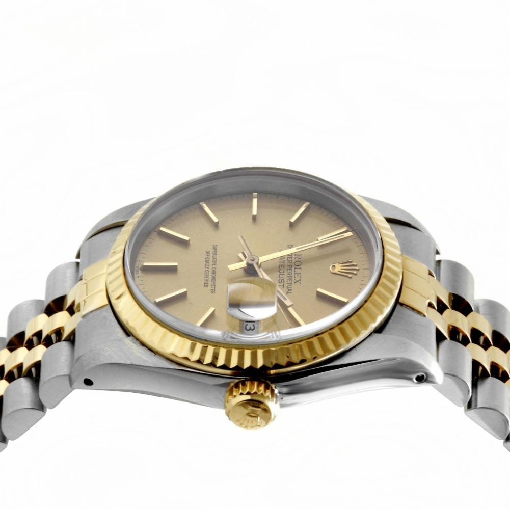 Rolex Datejust swiss-automatic mens Watch 16013 (Certified Pre-owned) by Rolex (Image #2)