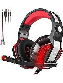 Pc Headsets Amazon Com