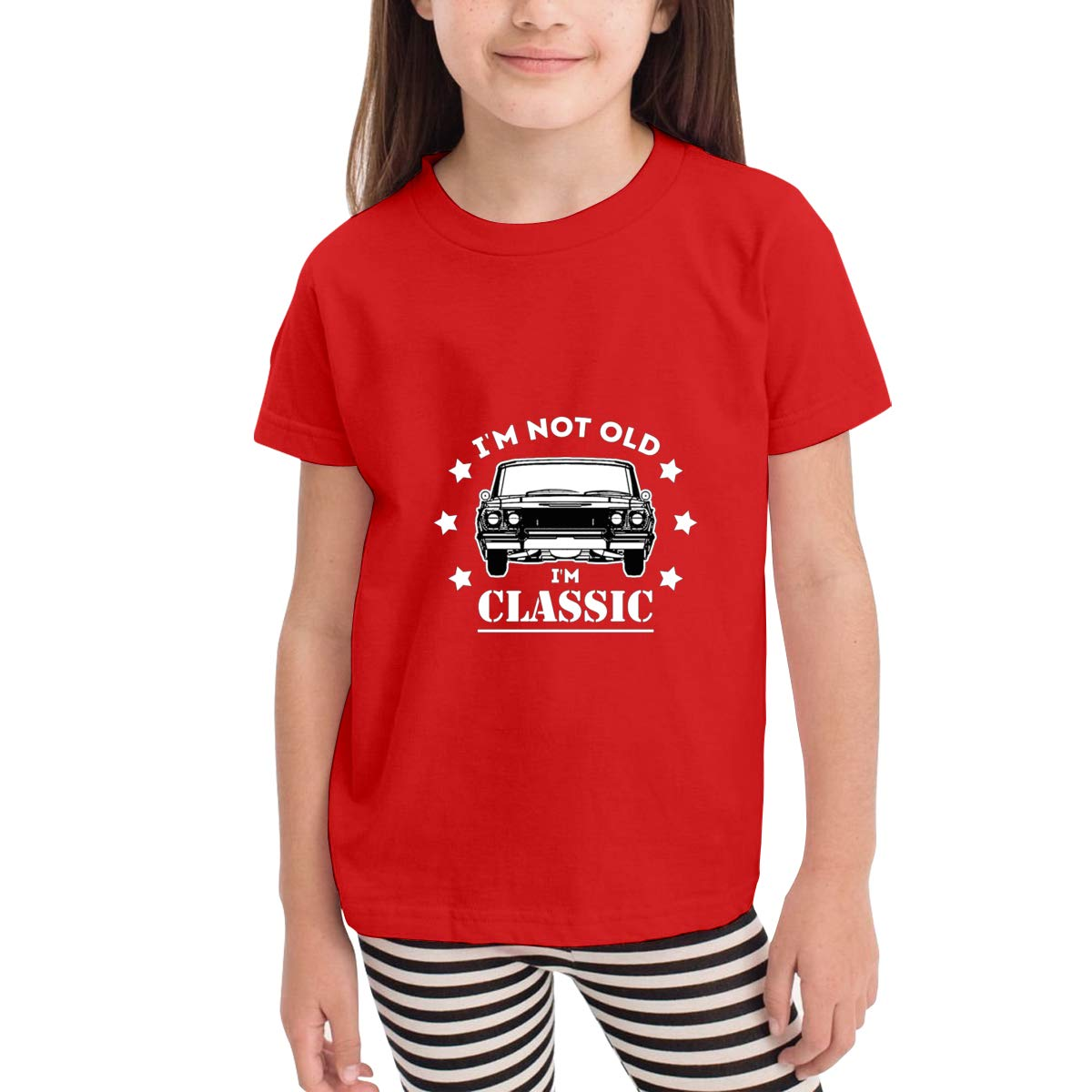 Im Not Old Im Classic 100/% Cotton Toddler Baby Boys Girls Kids Short Sleeve T Shirt Top Tee Clothes 2-6 T