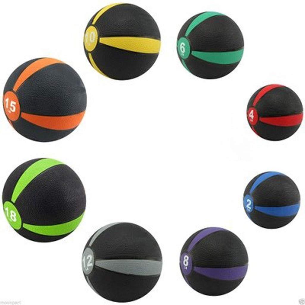 7kg  NICOLAS Ballon De Fitness en Caoutchouc Extensible, Ballon De Gravité 1-10 Kg, équipeHommest De Studio D'entraîneHommest Personnel, Caoutchouc Neuf