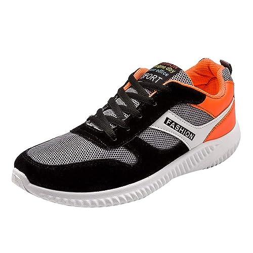 Oyedens Scarpe da Corsa Sneakers Sports Shoes Scarpe Sportive da Uomo Anti  Slittamento Scarpe Rotonda Toe 610957e4299