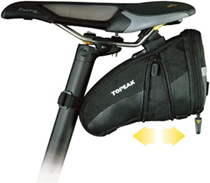 Topeak Aero Wedge Pack Small Satteltasche: Amazon.es: Deportes y ...