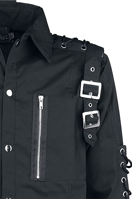 Ramses Shirt Camisa Negro Poizen Industries 1v6fjyd