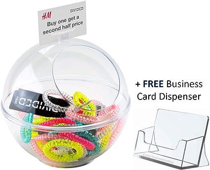Caja de donaciones transparente/coleccionista de tarjetas de ...