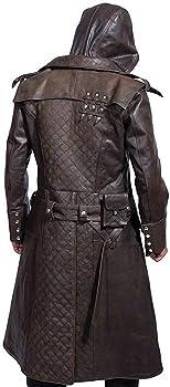 Assassins Creed Syndicate Ninja Jacob Frye Jacket Brown ...