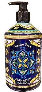 Home & Body Co. Deruta Style Verbena Citron Liquid Hand Soap 21.5 Fl.Oz.