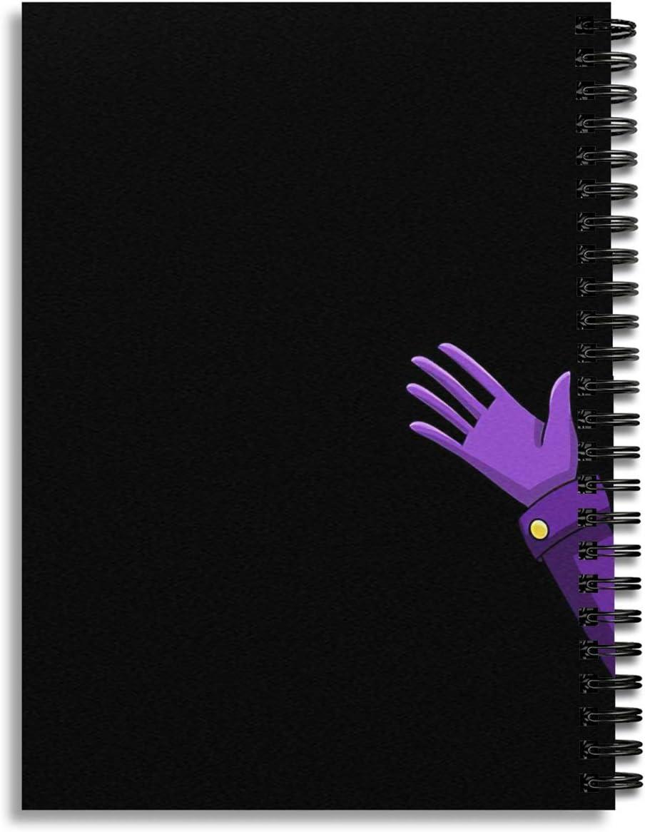 Spiral Notebook Purple Guy William Afton Composition Notebooks Journal With Premium Thick Bills Tracker Paper