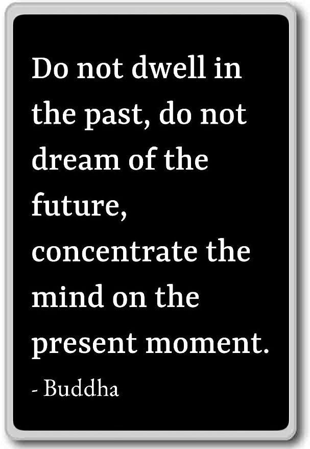 No Pensar En El Pasado, no sueño del futuro... - Buda cita imán ...