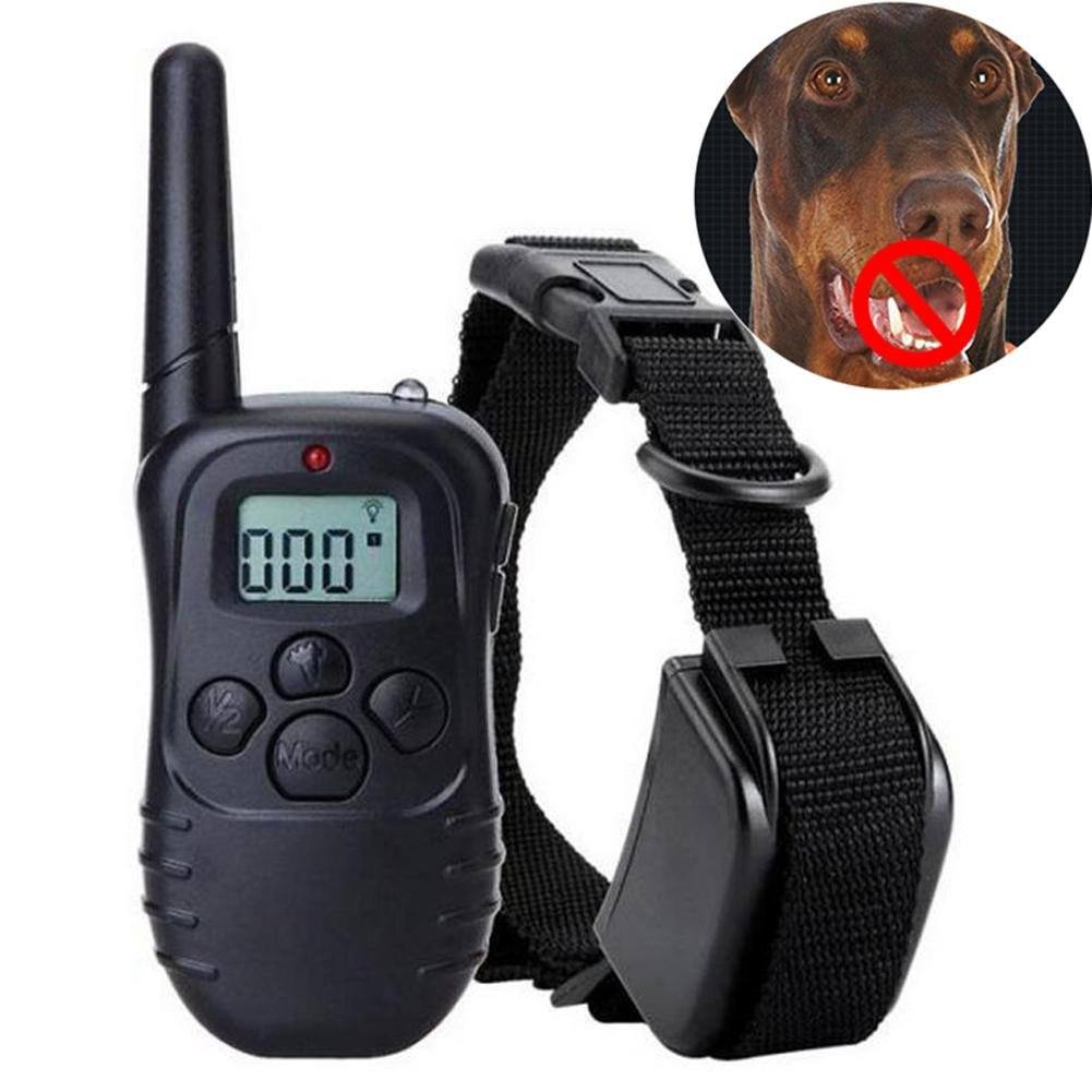 UK Dog Training Collar 301 Yard Electric Remote Dog Collar Rechargeable Dog Collar