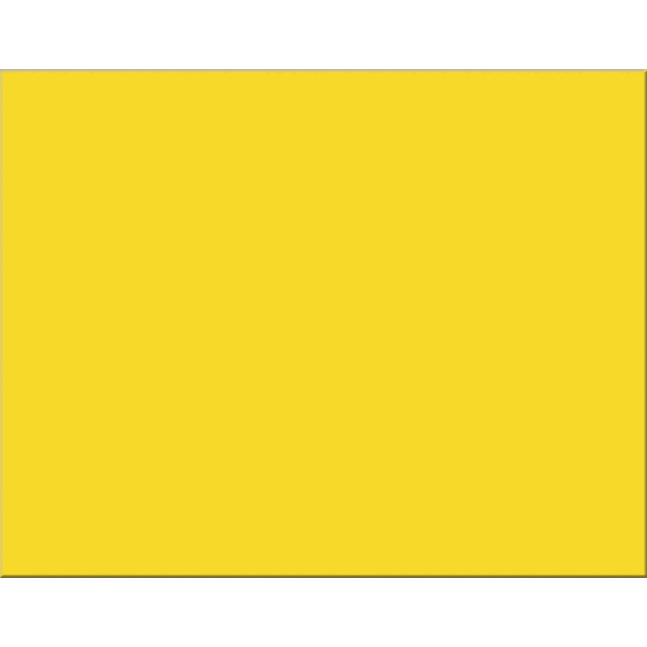 Pacon PAC54731 6-Ply Railroad Board, Lemon Yellow, 22'' x 28'', 25 Sheets
