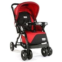 LuvLap Galaxy Baby Stroller and Pram (Red/Black)