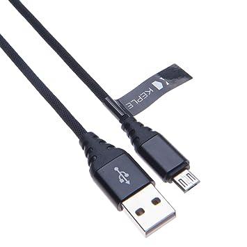 Cable Micro USB De Carga Rápida Cargador Trenzado De Nylon Cable Compatible con Lenovo Yoga Tab 8, Tab 2 A7-30, Tab 2 10.1, Tab 2 Pro, Tab 2 8, Tab 3 ...