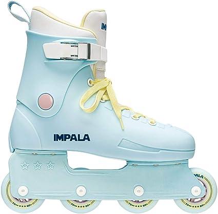 Sky Blue//Yellow Impala Lightspeed Inline Skate