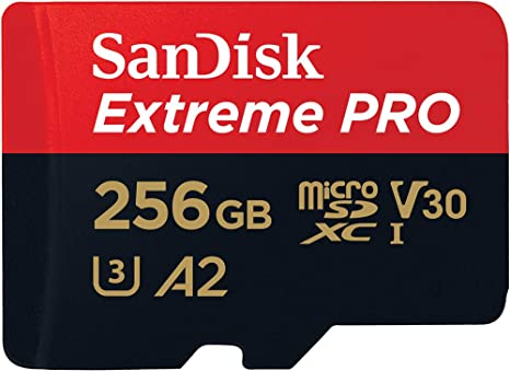 Sandisk Extreme Pro 256gb Microsdxc Memory Card Sd Computer Zubehör