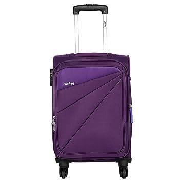 Safari Fabric 78 cms Purple Soft Side Suitcase (Mimik 4W 75 EC PURPLE)