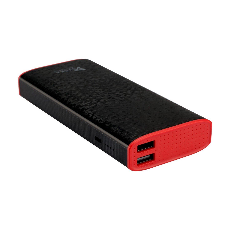 Syska Economy 100 10000mah Power Bank Black Electronics Ye 3ports Usb Adapter Yellow