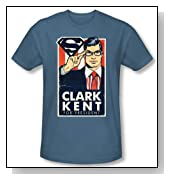 TeeShirtPalace Superman Kent For Presidednt T-Shirt