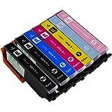 【横トナ オリジナル】EPSON IC6CL80L 互換 インクタンク 増量版7本セット(6色パックと黒1本) IC80 ICチップ付き 残量検知対応 対応機種:EP-977A3/EP-907F/EP-807AW/EP-807AB/EP-807AR/EP-777A/EP-707A【互換インクカートリッジ】