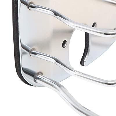 Smittybilt 8460 Euro Stainless Steel Rear Taillight Guard: Automotive