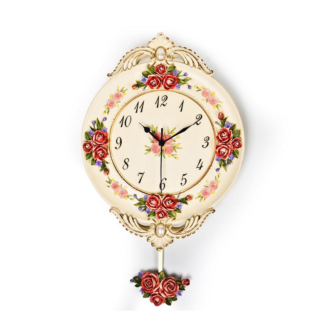 現代 芸術 ヨーロッパ レトロ 時計 掛け時計 おしゃれ 掛時計 壁掛け シズネ おしゃれ リビング SFANY B07F2CHCKK