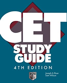 the associate cet study guide 9781891749070 amazon com books rh amazon com the associate cet study guide 6e