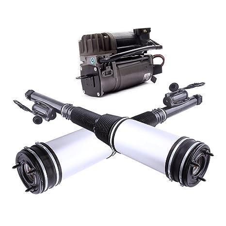 maxpeedingrods Amortiguador + Aire suspensión Compresor trasera Suspensión Neumática 2203205013 2113200304
