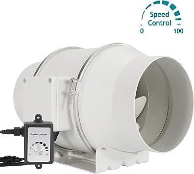 HG Power ventilador de ventilación de 6 pulgadas con controlador ...