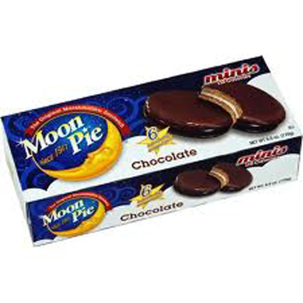 Moon Pie Chocolate Mini Pies 6 count (pack of 2) by Chattanooga Bakery