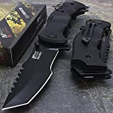 9″ M-Tech G10 Tracker Spring Assisted Open Folding Pocket Outdor Knife Tactical Rescue Combat Review