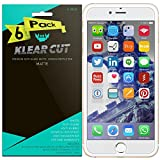 xtremeguard carbon fiber - iPhone 7 Plus Screen Protector [6-Pack], Klear Cut High Definition Matte Screen Protector for iPhone 7 Plus PET Film Anti-Glare and Anti-Bubble Shield