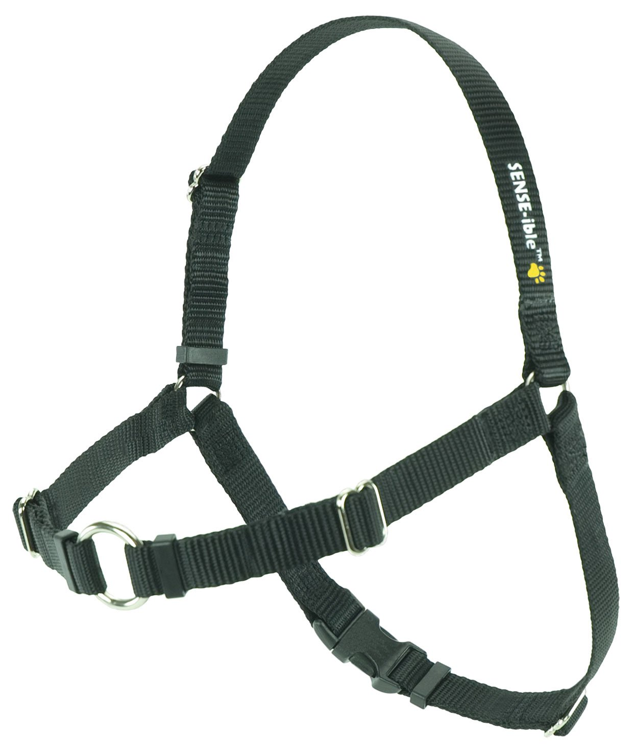 Black Medium Large Narrow Black Medium Large Narrow SENSE-ible No-Pull Dog Harness Black Medium Large (Narrow)