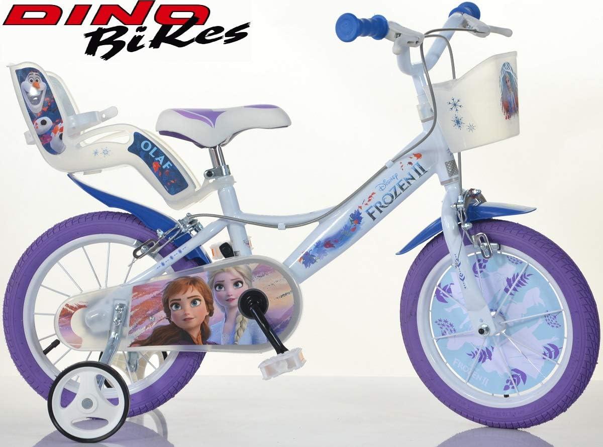 Bicicleta Dino Bikes Bici Medida 16 Frozen Art. 164R-FZ3 Modelo ...