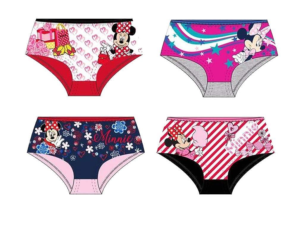 Underwear for Girls Licence in Cotton: Disney, Minnie, Paw Patrol, Peppa Pig,Hello Kitty.