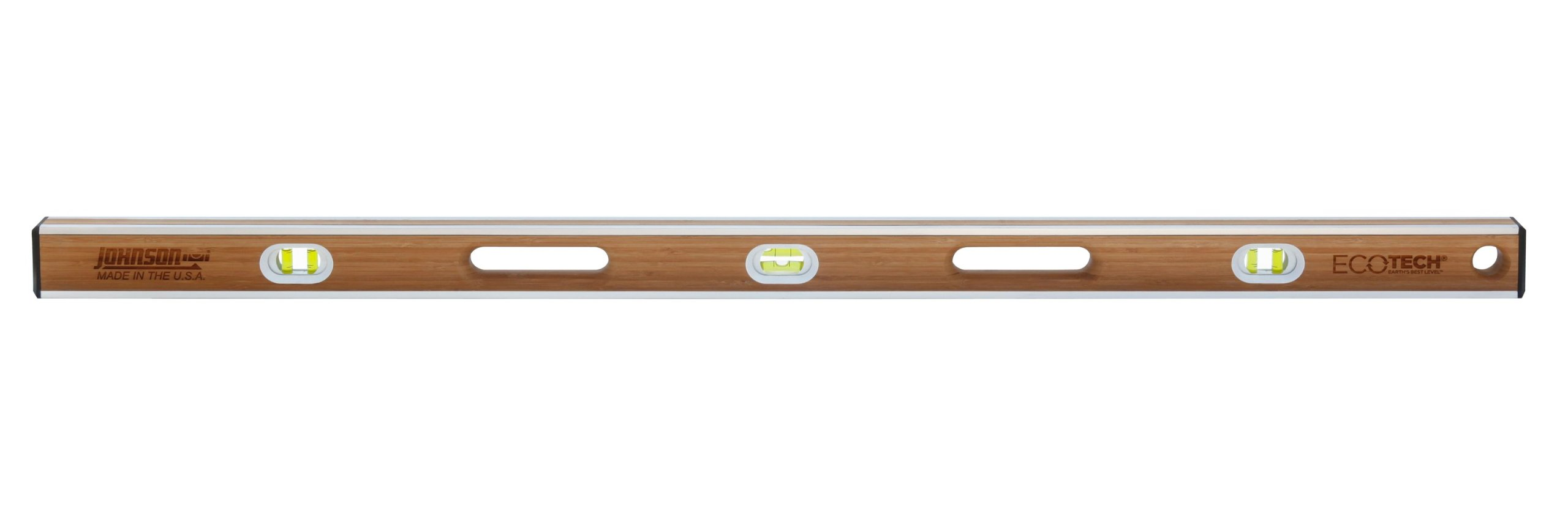 Johnson Level 1600-4800 48-Inch Eco-Tech Bamboo Level, Brown by Johnson Level (Image #1)
