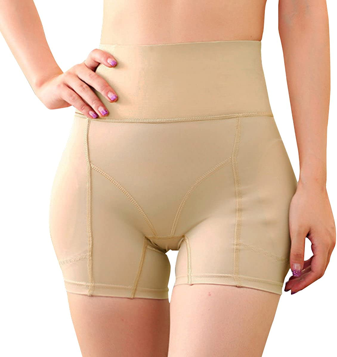 Miureal Women's Hip Enhancer Firm Control Seamless Padded Thigh Slimmer Panties