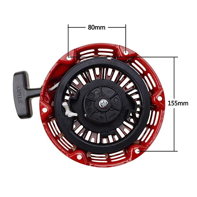 Amazon.com : WOOSTAR GX160 Pull Recoil Starter for Honda Generator Lawn Mower Replace Parts Gx120 Gx200 5.5hp 6.5hp Motor : Garden & Outdoor