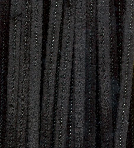 Black Chenille Pipe Cleaners - 25pk (300mm) by CI