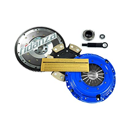 Amazon.com: EF STAGE 3 CLUTCH KIT+FIDANZA FLYWHEEL 1992-1993 ACURA INTEGRA 1.7L 1.8L: Automotive