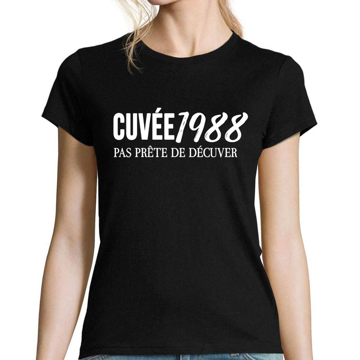 Camiseta Cuello V Humor cumpleaños 30 años Mujer | Cuvée ...