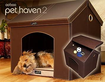 Amazon.com : Pet Haven - Brown - Indoor Dog House / Indoor Cat ...