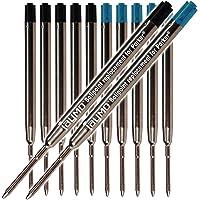 6-Pack Parker Ballpoint Compatible Refills Parker Pen black & blue