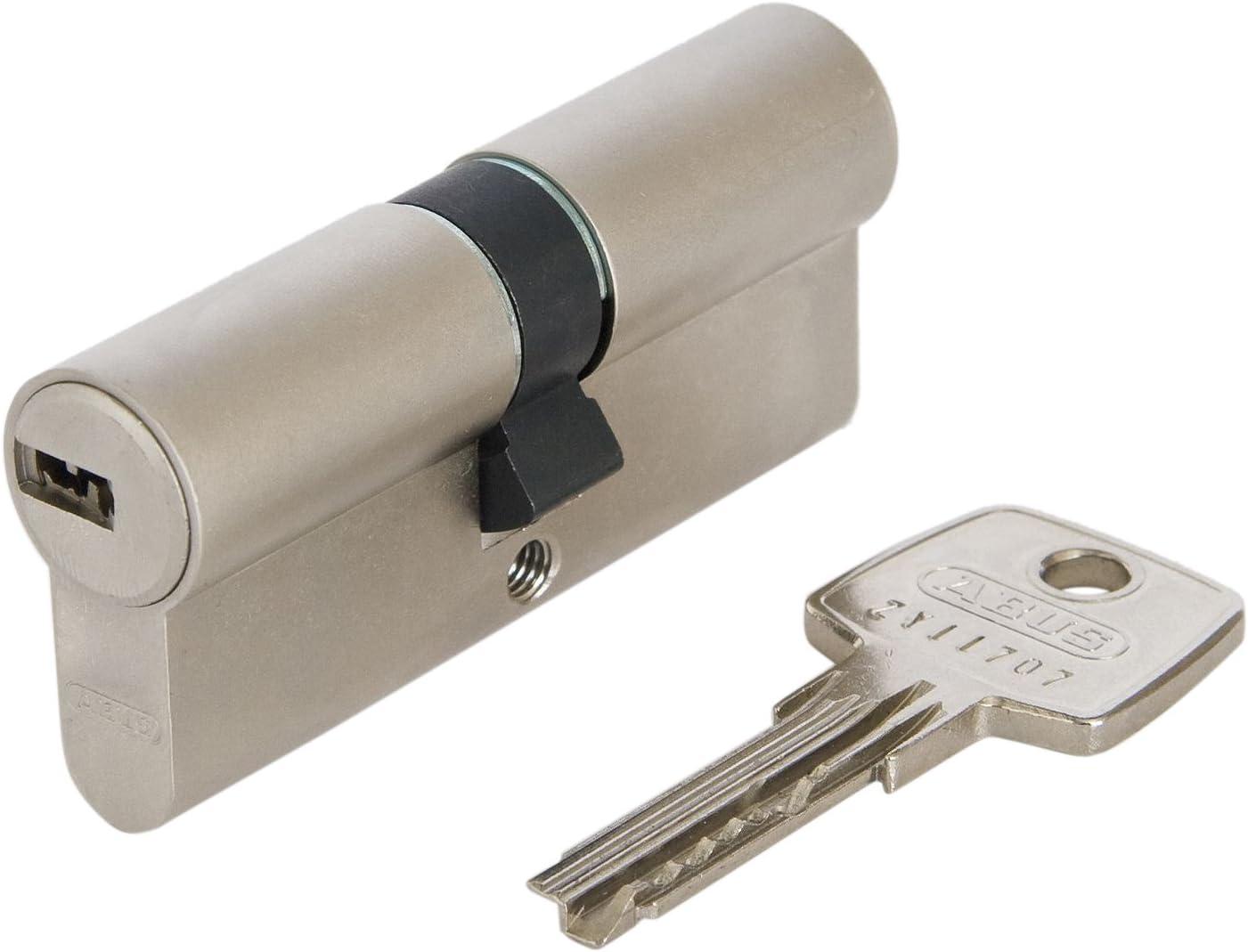 Gefahr 20 Schlüssel gleichschließend Schloss 4x Profil Zylinder 70mm 30//40 Not