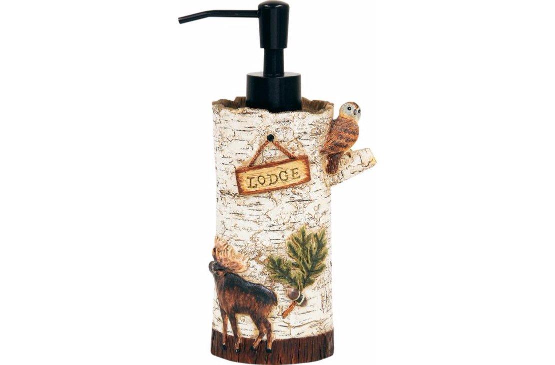 Bacova Guild Lodge Memories Lotion Dispenser
