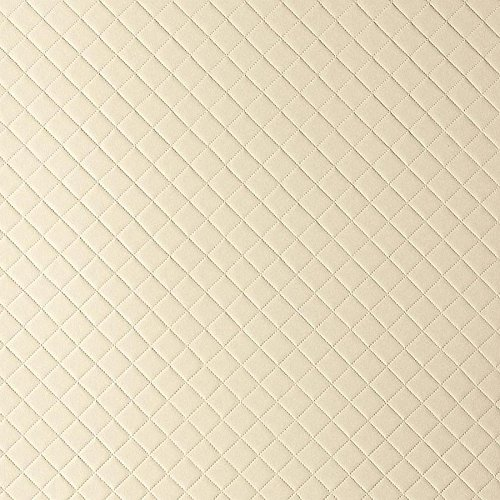 WallFace 13863 ROMBO Wall panel self-adhesive Leather design plaid Luxury wallcovering wallplate cream | 2,6 sqm by Wallface (Image #5)