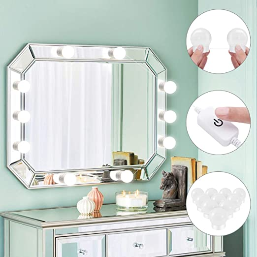 Makeup Mirror Light Bulb Yunlights Hollywood Style Led Vanity