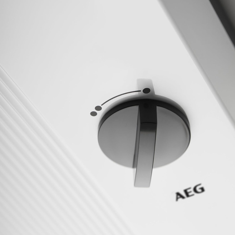 AEG 222385 DDLT PinControl 18 Calentador de agua hidr/áulico 18 kW, 400 V color blanco