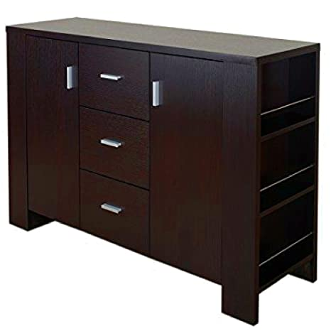 Amazon.com - Dining Room Server Cabinet with Drawers Two ...