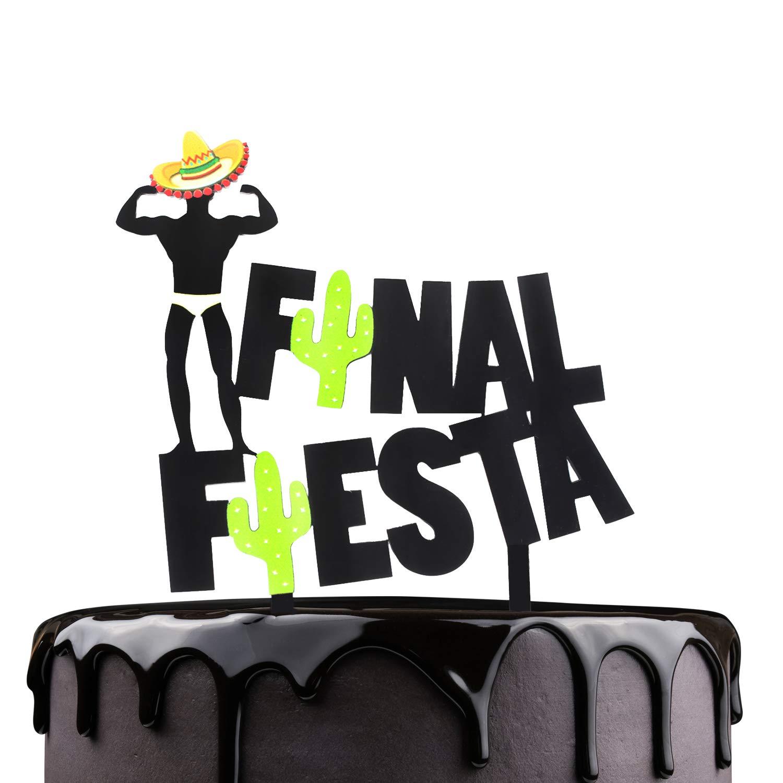 Final Fiesta Carnival Cake Topper - Mexican Chilli Festival ...