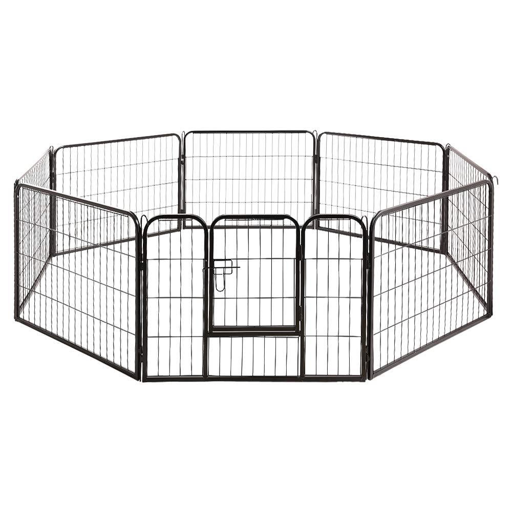 I.Pet 60cm Heigh Foldable Pet Dog Playpen with 8 Panels Single Door
