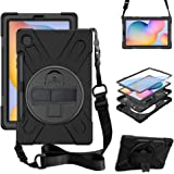 "ZenRich Galaxy Tab S6 Lite Case 10.4"", SM-P610/P615 Case with S Pen Holder zenrich Shockproof Rugged Case with Stand…"